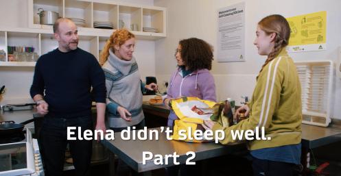 Unit 7.2 Elena didnt sleep well Part 2