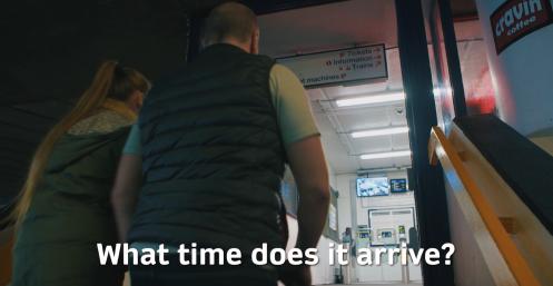 Unit 7.4 What time does it arrive