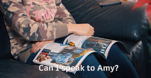 Unit 3.4 Can I speak to Amy